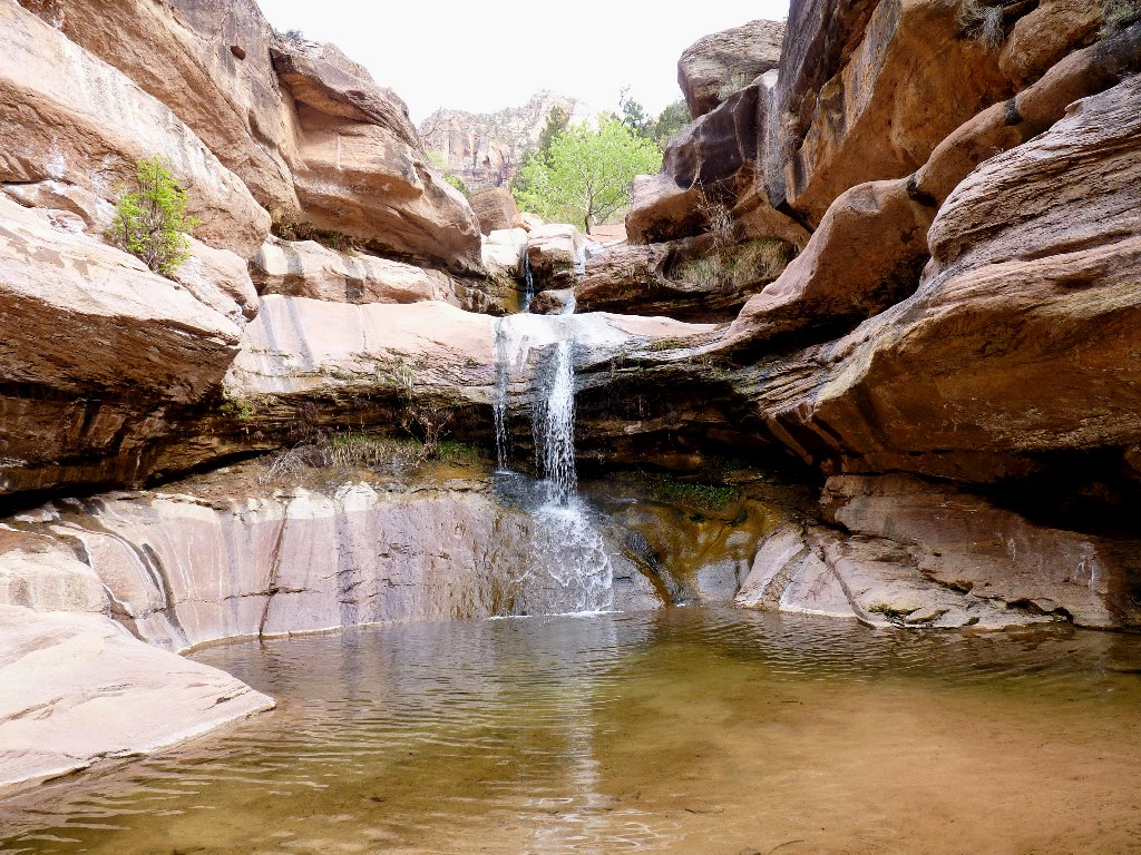 Hiking: Pine Creek Waterfall, Zion NP   Ted's Outdoor World